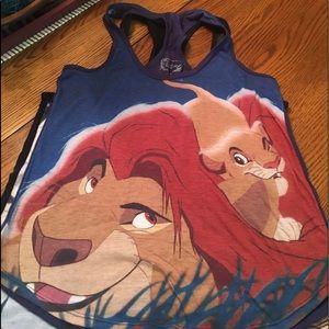 Disney Lion King Tan Top